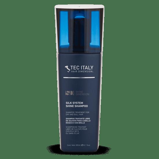 Shampoo Silk System 300ml Tec Italy Shine Dimension