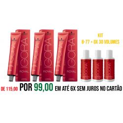 Igora Royal Kit 8-77 + OX 30 volumes