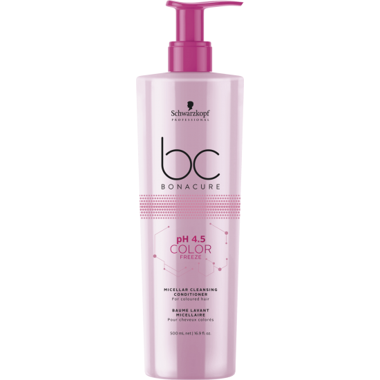 Schwarzkopf Micellar Cleansing Conditioner pH 4.5 Color Freeze 500ml