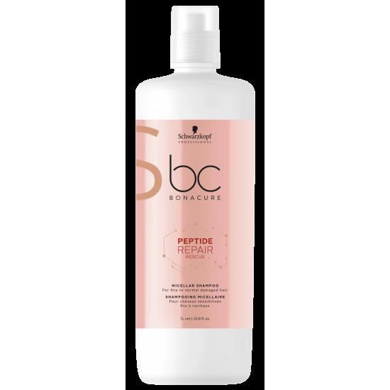Schwarzkopf BC Shampoo Micellar Peptide Repair Rescue 1000ml