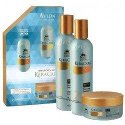 Avlon KeraCare Kit Dry Itchy 3 produtos