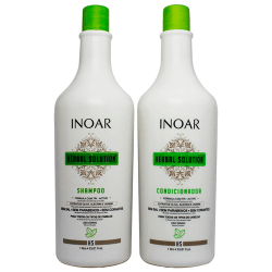 Inoar Herbal Shampoo 1000ml + Condicionador 1000ml