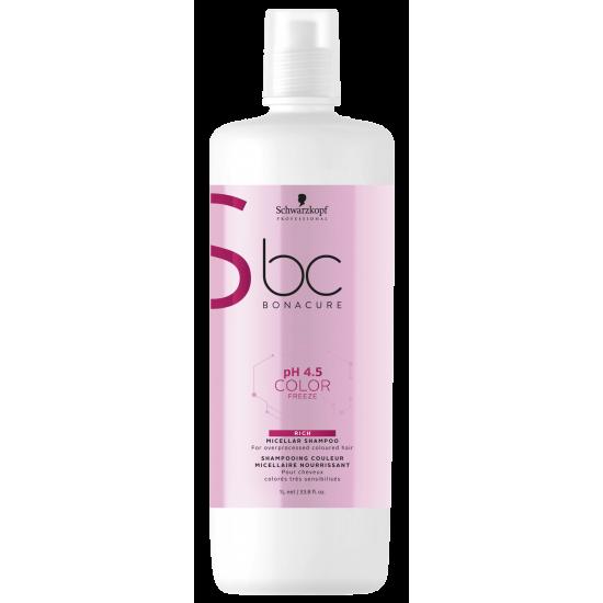 Schwarzkopf Shampoo Micellar pH 4.5 Color Freeze Enriquecido 1000ml
