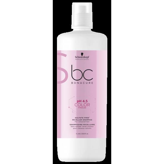 Schwarzkopf Shampoo Micellar pH 4.5 Color Freeze Sulfate-free 1000ml