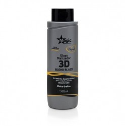 Gloss Matizador Magic Color 3D Blond Black - Efeito Grafite 500ml
