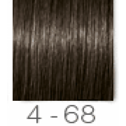 Essensity 4.68 Castanho Médio Marrom Vermelho - Coloração Sem Amônia