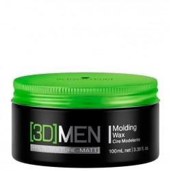 Schwarzkopf 3D Men Molding Wax Cera Modeladora 100ml
