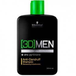 Schwarzkopf 3D Men Anti-Dandruff  Shampoo Anti-caspa 250ml