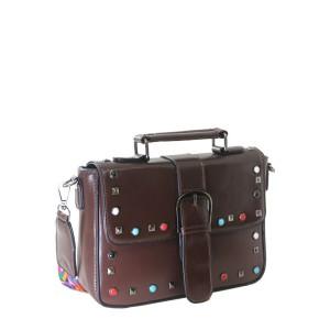 Bolsa de Mão com Detalhes Coloridos | F18316CO