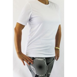 Camiseta Fitness | Branco