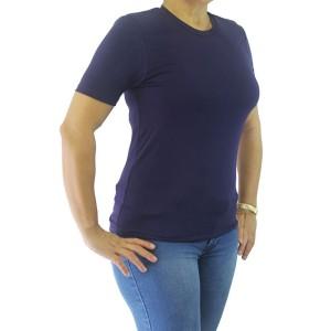 Blusa Feminina Gola Redonda | Azul