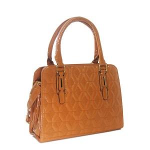 Bolsa Verniz com Estampa Texturizada | H901LB