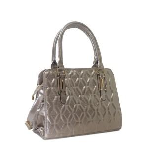 Bolsa Verniz com Estampa Texturizada   H901GO
