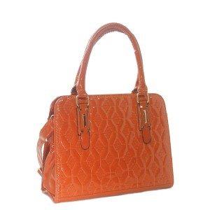 Bolsa Verniz com Estampa Texturizada | H901CA
