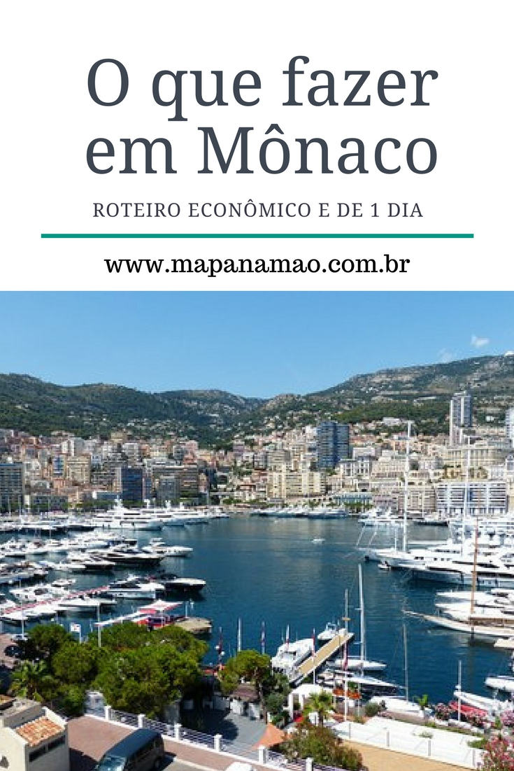 O Principado de Mônaco é um destino deslumbrante no sul da França. Fizemos um roteiro de 1 dia em Mônaco para você economizar neste lugar incrível.