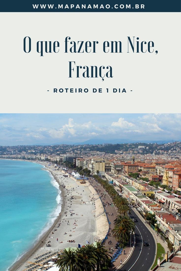 A cidade de Nice na França é um lugar apaixonante. Reunimos algumas dicas sobre o que fazer em Nice, nesta nossa sugestão de roteiro de 1 dia.