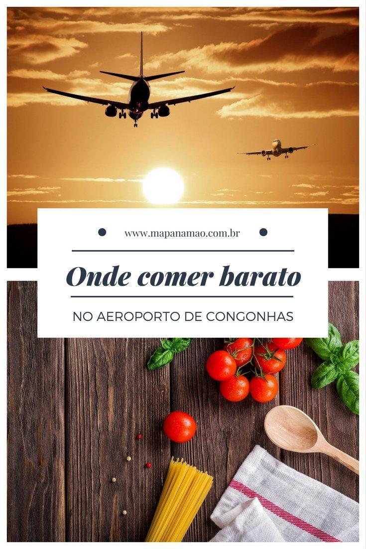 Restaurantes aeroporto Congonhas: nós descobrimos um ótimo restaurante self-service. Clique aqui e saiba onde comer barato no aeroporto de Congonhas