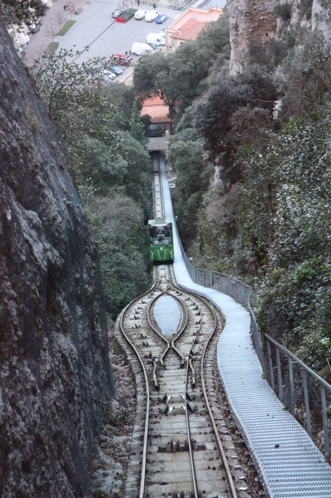 funicular montserrat