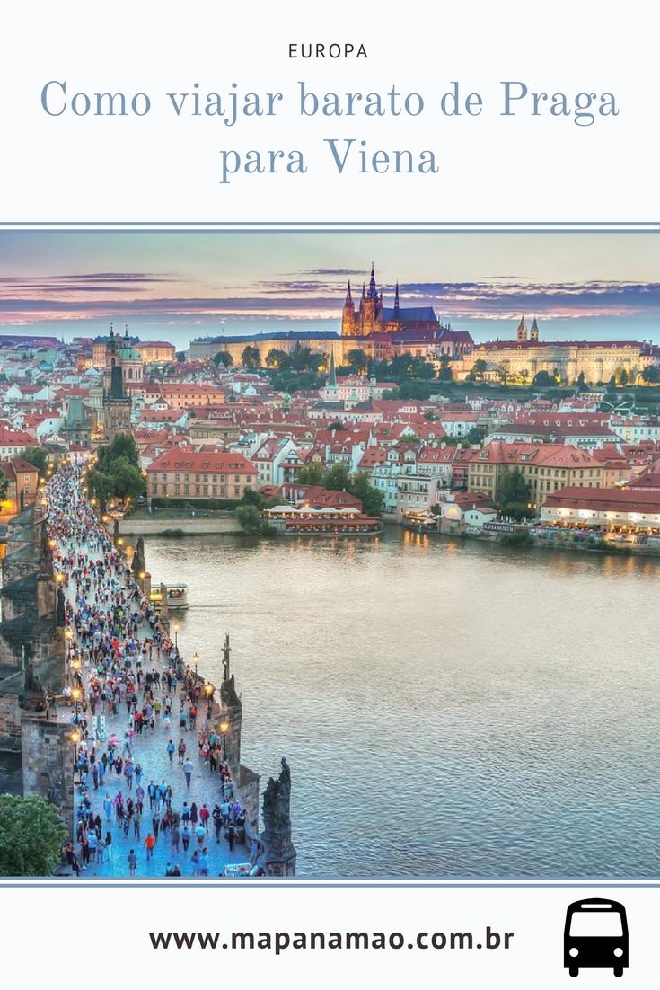 como viajar barato de praga para viena europa