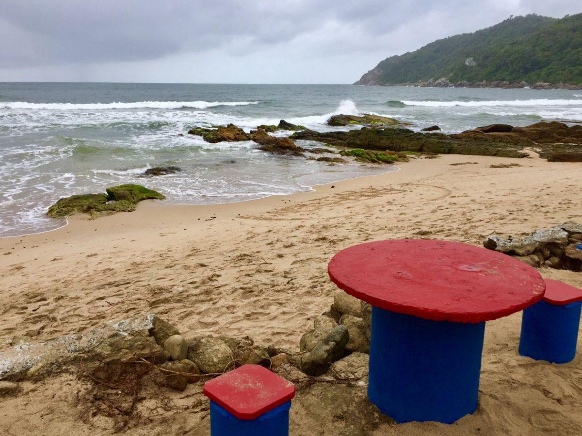 praia retiro dos padres em bombinhas
