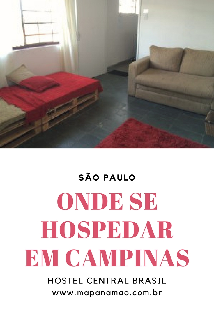onde se hospedar em campinas hostel central brasil