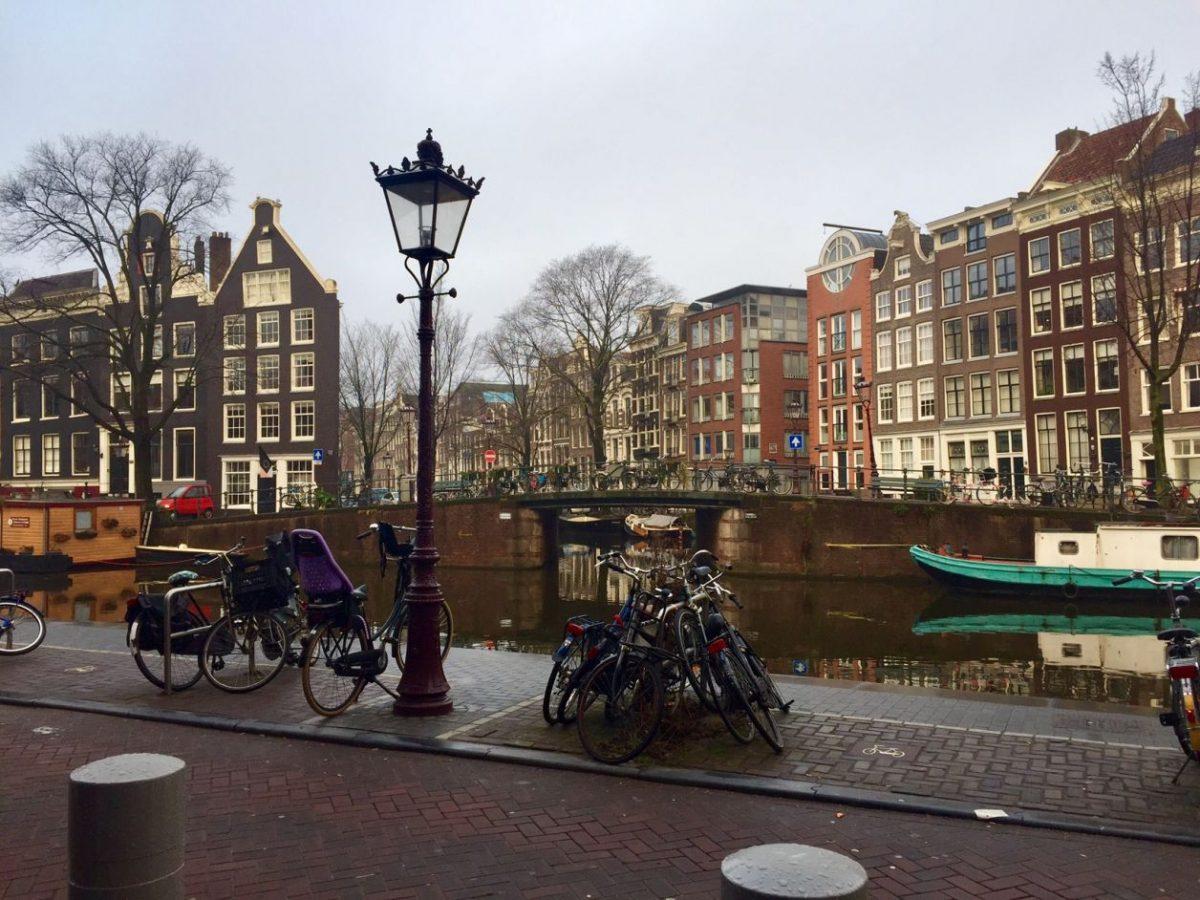 centro antigo de Amsterdam