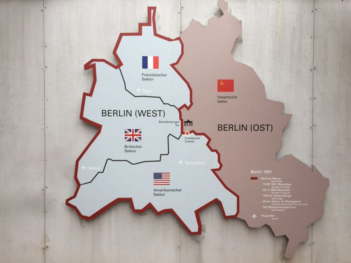divisão de Berlim