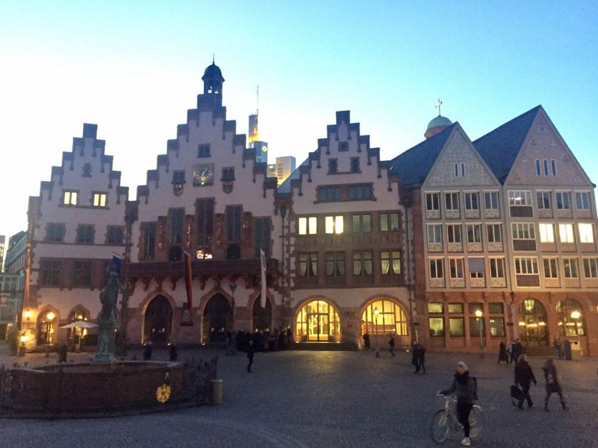 edifícios frankfurt