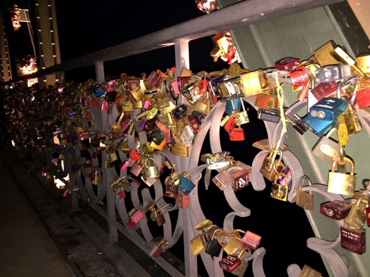 cadeados ponte frankfurt