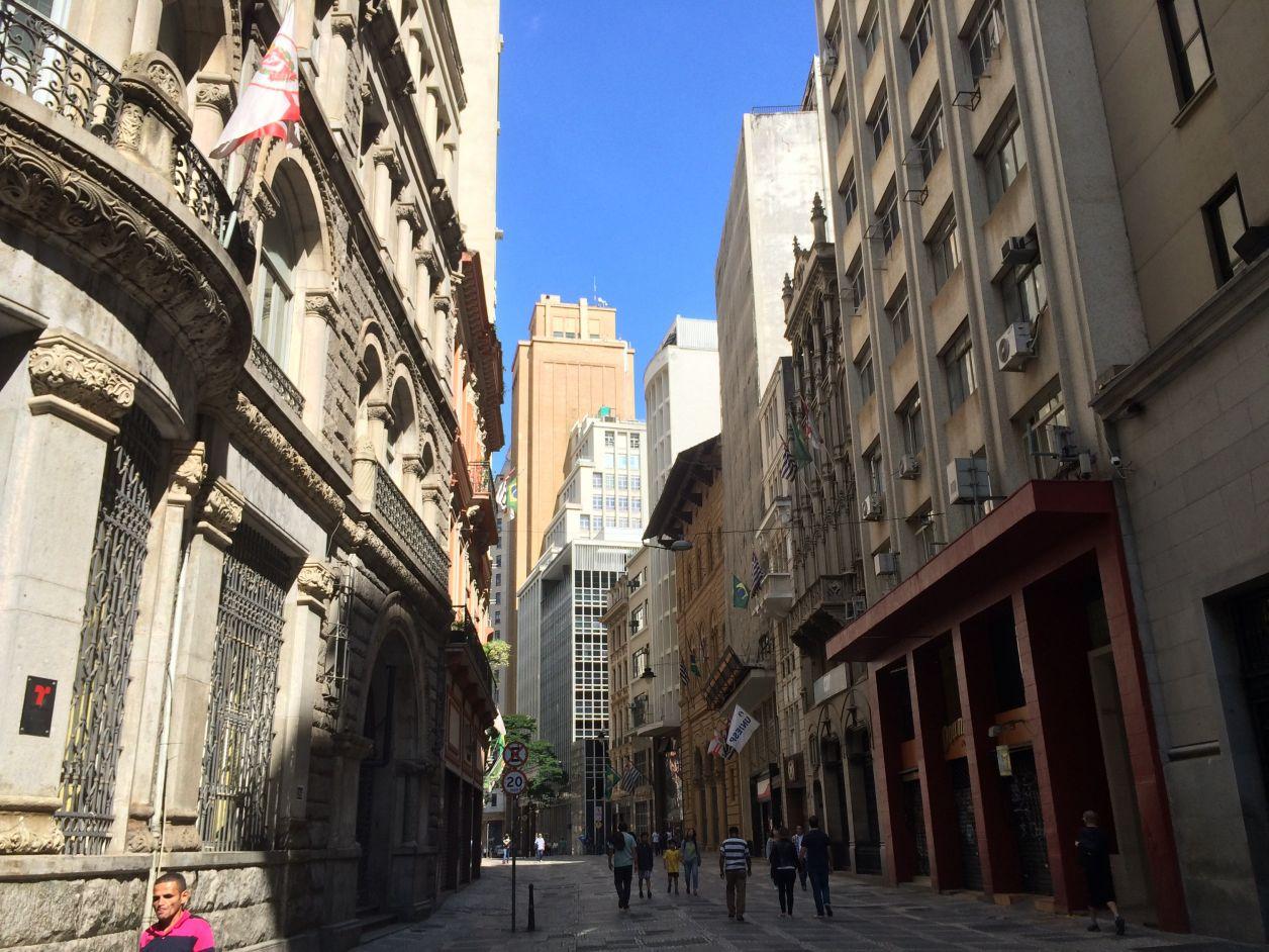 centro histórico de sao paulo