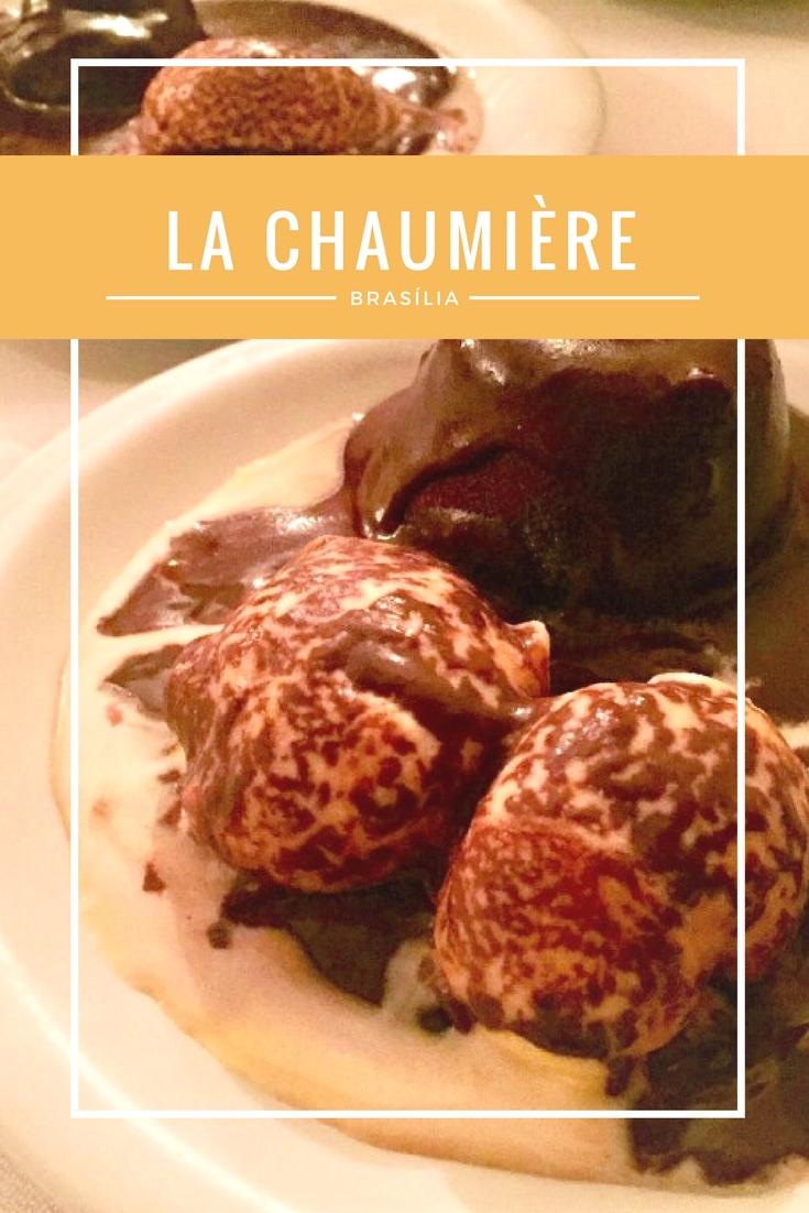 La Chaumière - um restaurante francês em Brasília