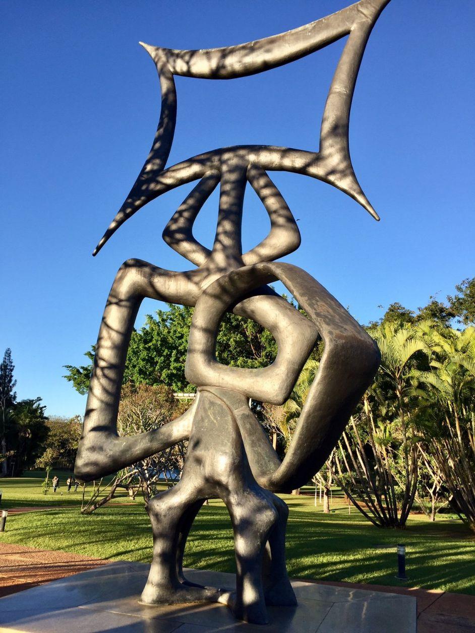 Escultura Rito dos Ritmos