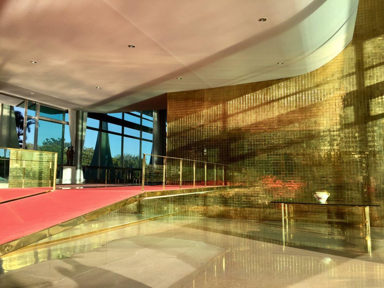 hall de entrada do palácio da alvorada em brasília