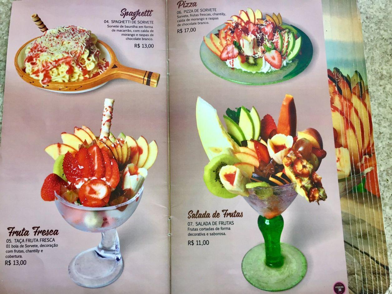 sorveteria venezia em criciuma
