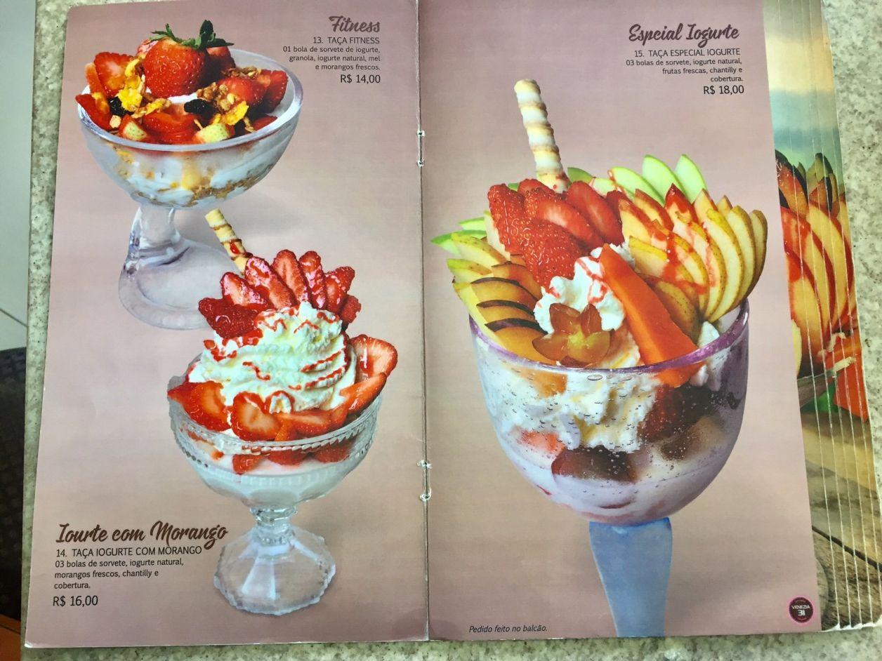 sorvetes em criciuma