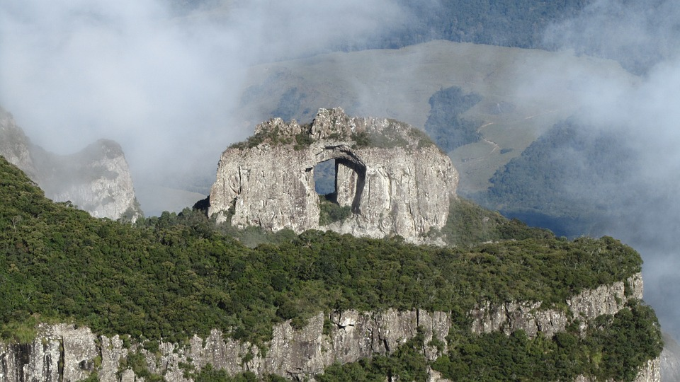 Serra Catarinense Pedra Furada Uribici