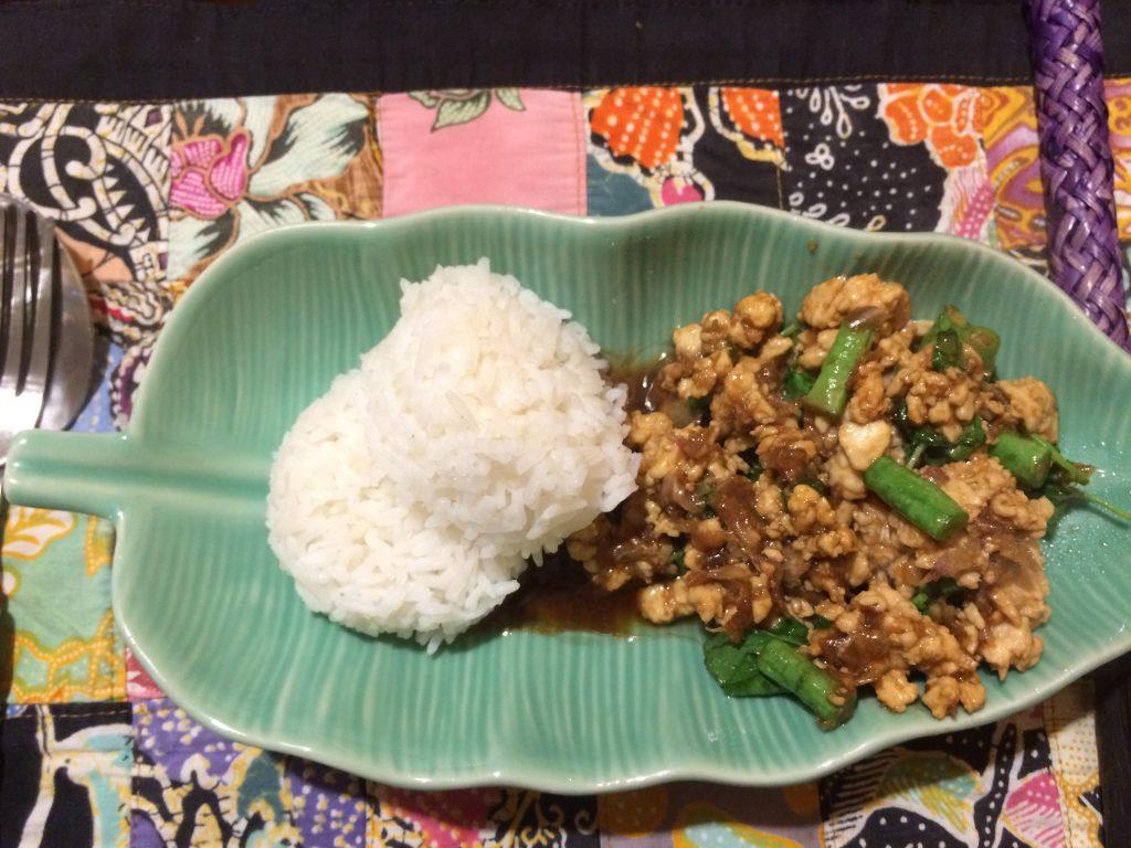 Pratos típicos tailandeses