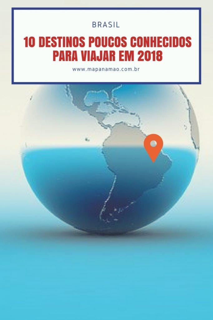 destinos diferentes no brasil