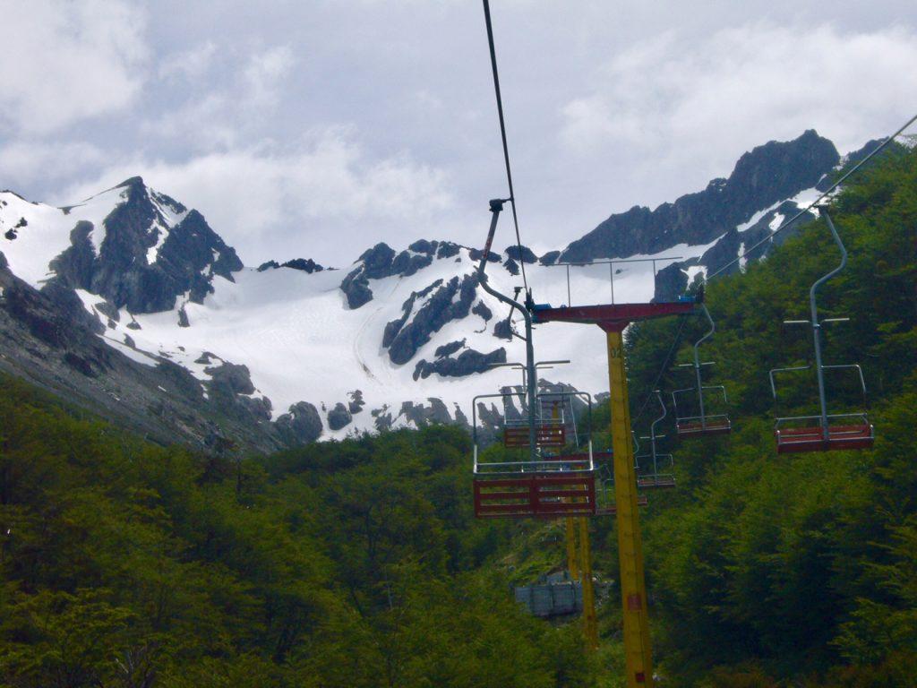 neve em ushuaia argentina