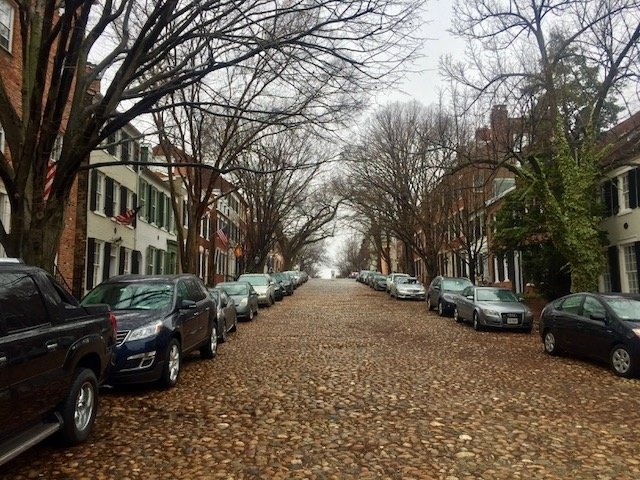 old town alexandria bate e volta de washington