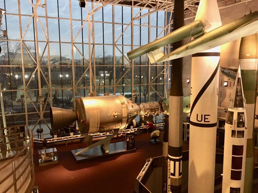 museu do espaço em washington