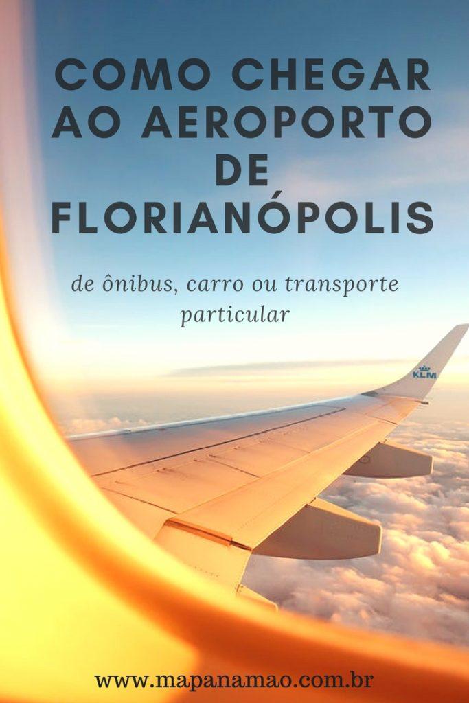 transporte até o aeroporto de Florianópolis