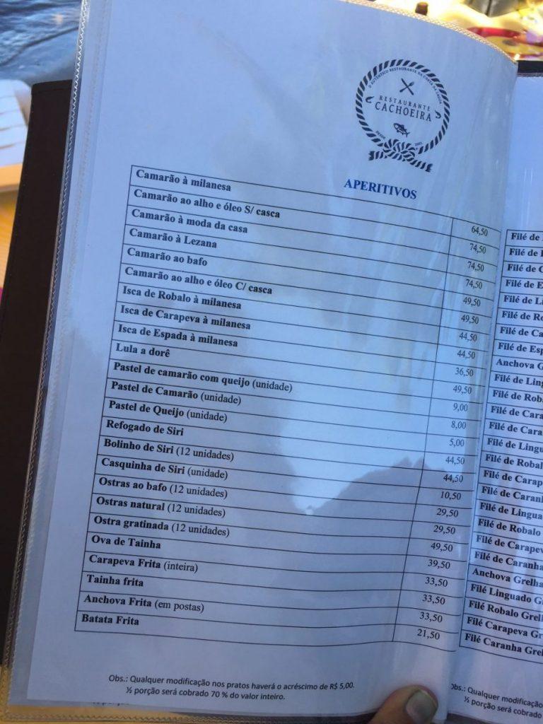 Restaurantes na Costa da Lagoa