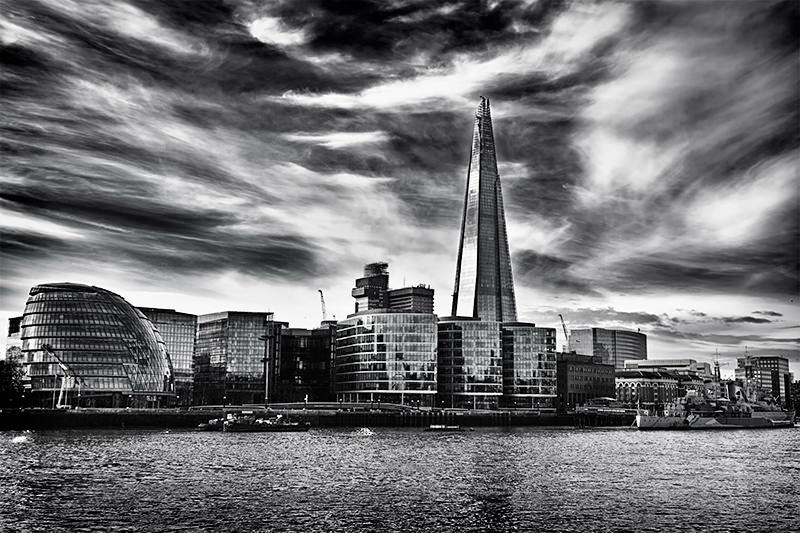 vista 360 graus de Londres Shard