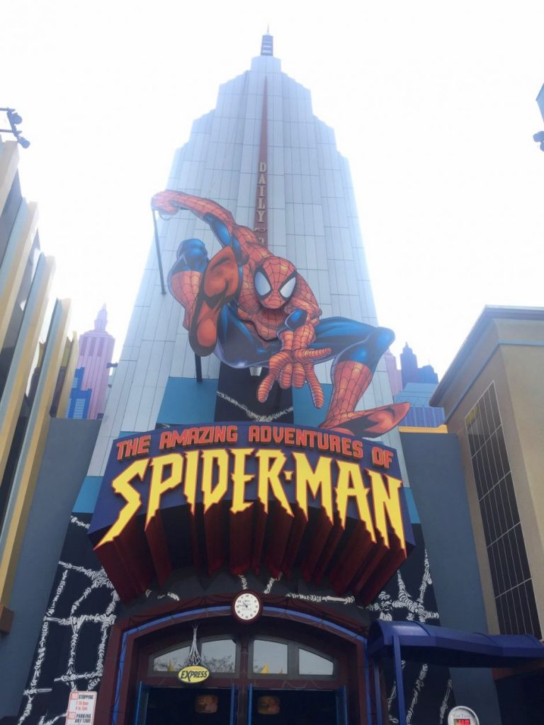 spider man islands of adventure em orlando
