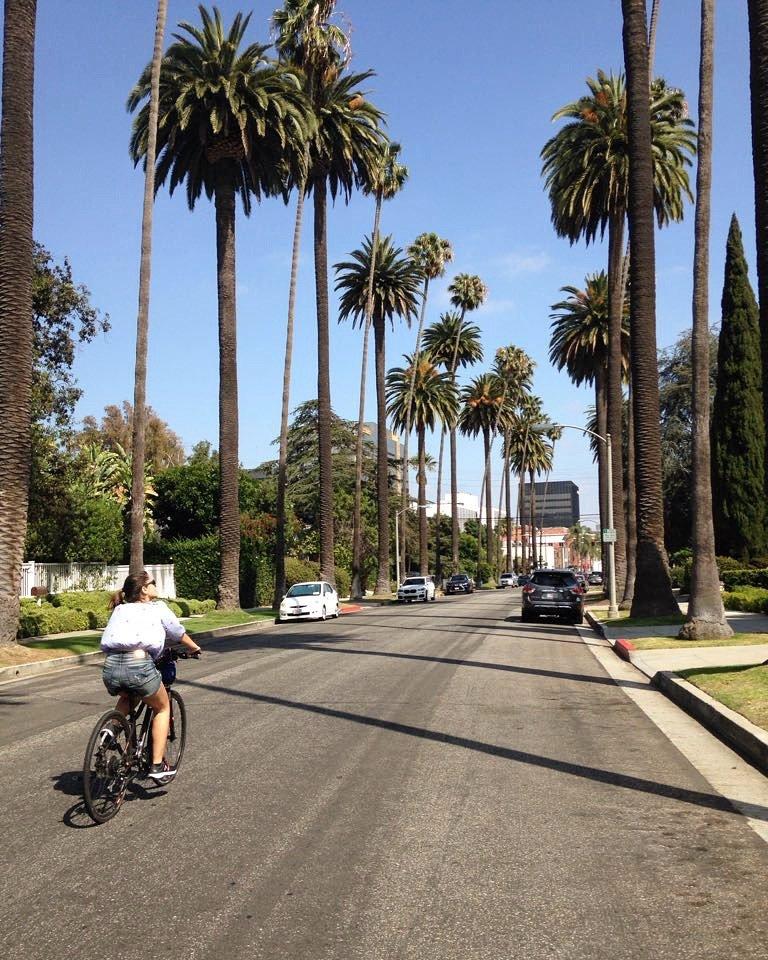 Tour de bike pelas casas dos famosos em Hollywood