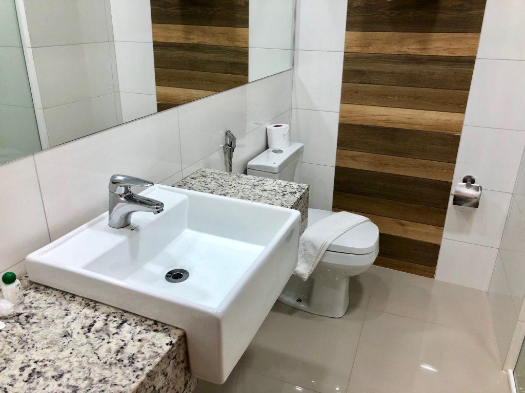 banheiro hotel foz do iguaçu