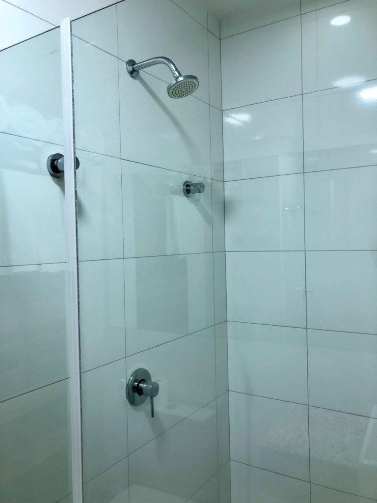 ducha de hotel
