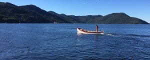 Costa da Lagoa, em Floripa – aonde só se chega por barco ou trilha