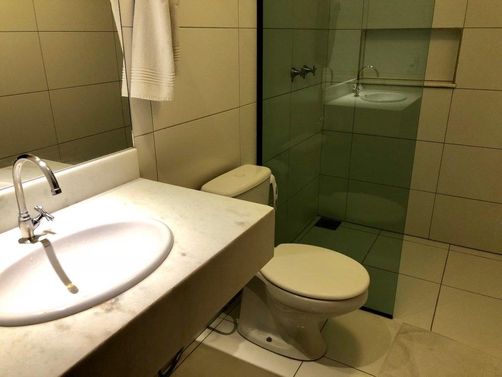 banheiro hotel em bonito